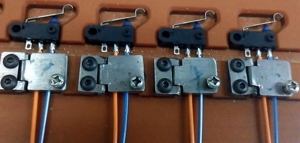 Micro switch soldering
