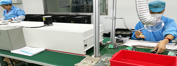 Manual coating and desktop curing oven