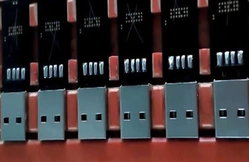 USB soldering.