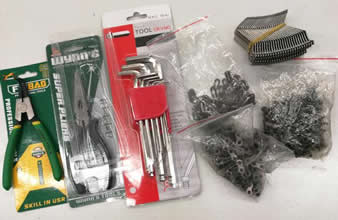 Provide free spare parts to customer