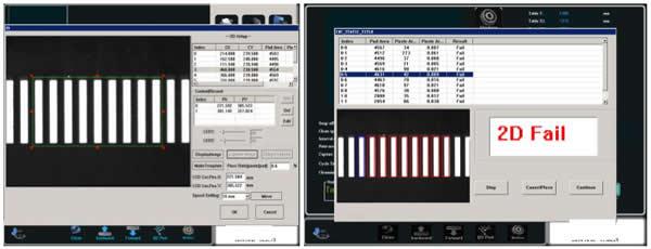 II. Inspection Software: 2D inspection