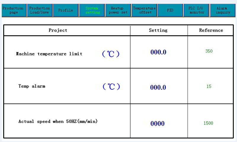 Easy for conveyor speed calibration