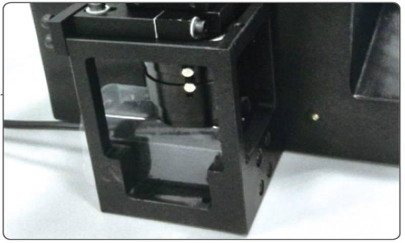 Coaxial lighting mark camera unit (option)