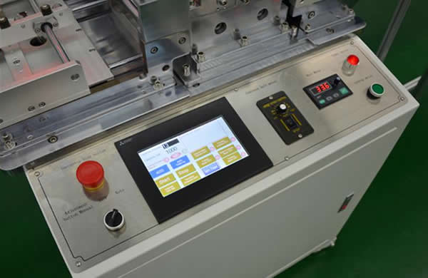 The machine adopts touch screen and PLC control system which can monitor production information,easy to operate.