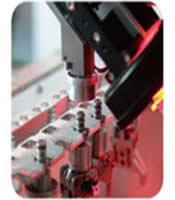 Optional clamping jaw changing function is available