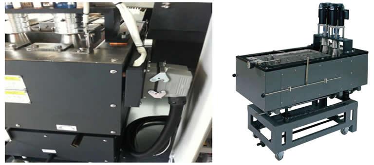 Modularize solder pot