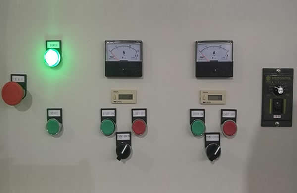 easy-operated control panel.