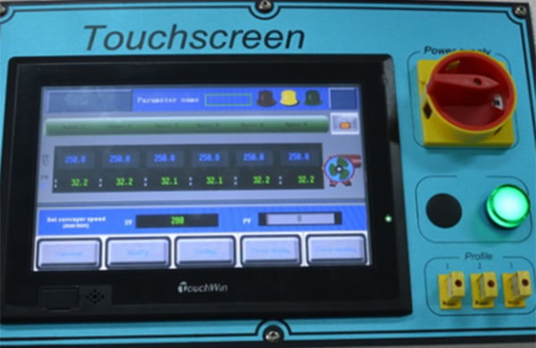 ICM Series Curing Oven Software & Electrical system
