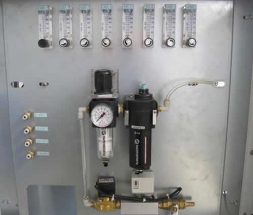 Oxygen system layout