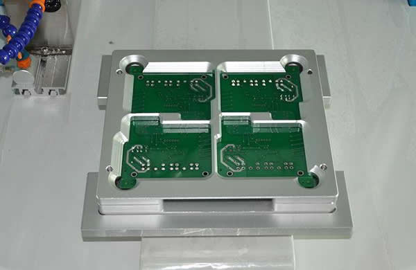 Customerized fixture according to customer's requirement (option).