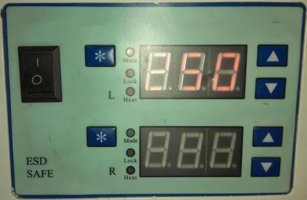 Contacted heating system with 150W,it has rapid temperature recovery time.