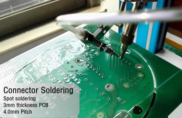 High heat soldering point(connector) .
