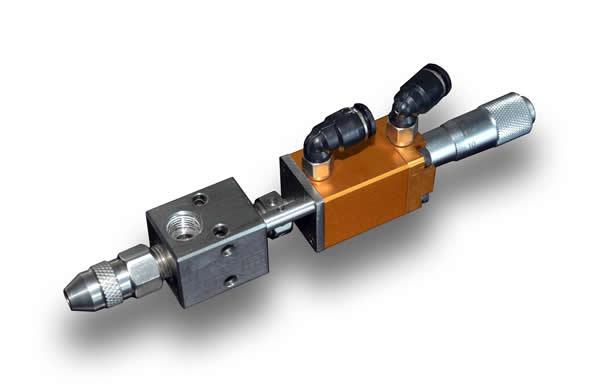 Micrometer high precision valve GR-D2121