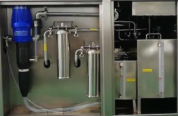 Convenient liquid add System: