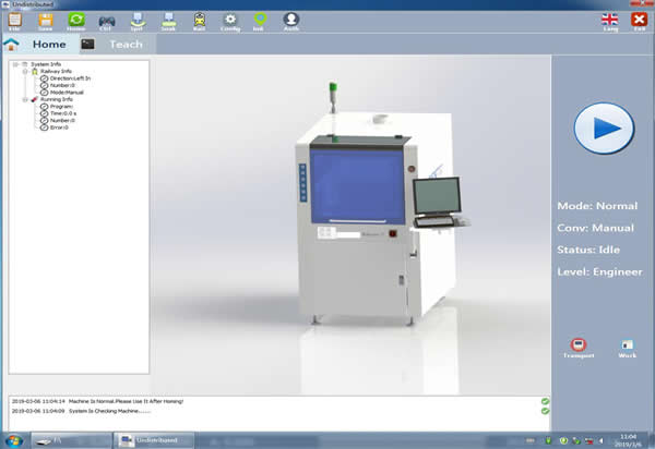 Professional coating software easily meet various requirement of coating prcoess.