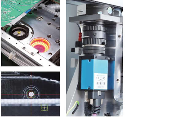 Superb Vision system with fiducial mark recognition function.