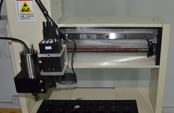 Bench-top Automatic  Router adopt x,y,z step motor and driving system ,ensure machine run smooth and precisely.routing accuracy less than 0.05mm.