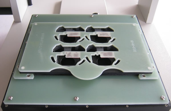 Optional fixture according to customer's requirement.