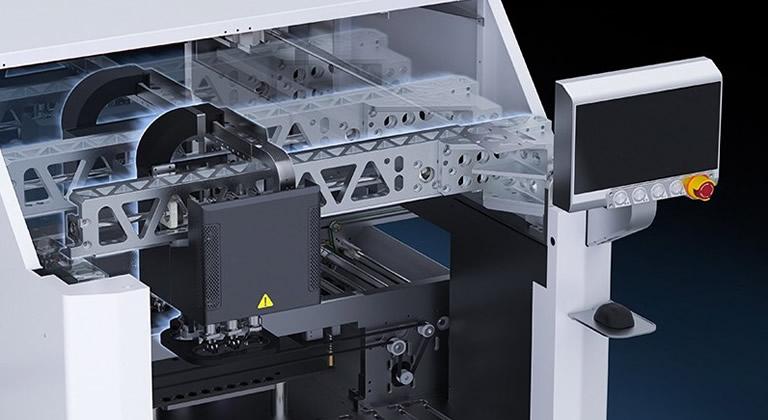 Intelligent Component Insertion System AI-400 Robot