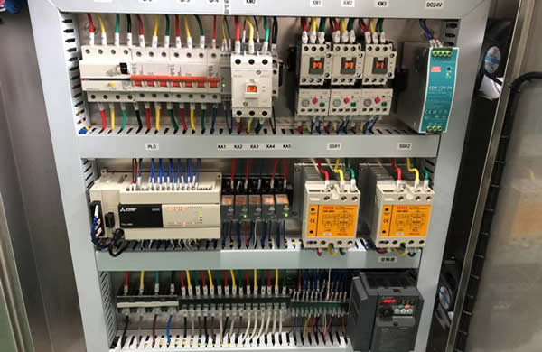 well-known brand electrical parts such as Mitsubishi PLC