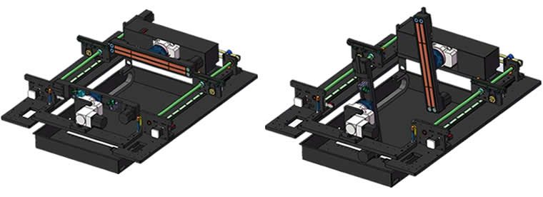 Laser Marking System LM450 series Flipping system